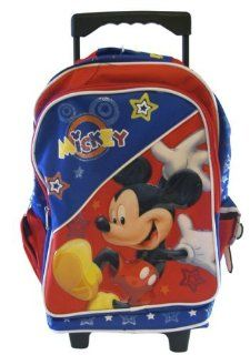 Disney Mickey Mouse 15 Large Rolling Backpack   Cheers Shoes