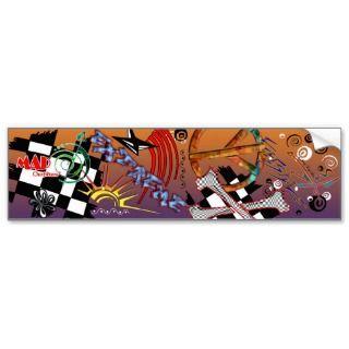 Original Graffiti Sticker Design Bumper Stickers
