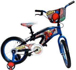 Spider Man Bike (16 Inch Wheels) Sports & Outdoors