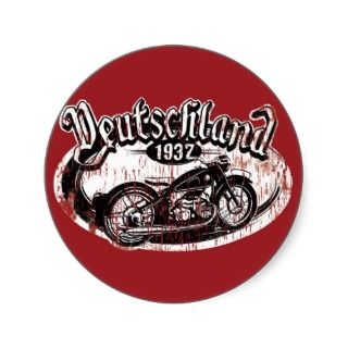 Retro Motorcycle Stickers, Retro Motorcycle Sticker Designs
