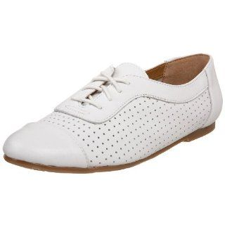 Report Womens Leon Dance Oxford,White,10.5 M US Shoes