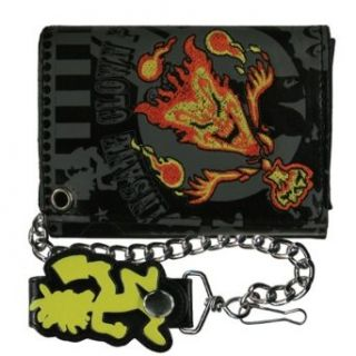 Insane Clown Posse   Jack Jeckel Leather Wallet with Chain