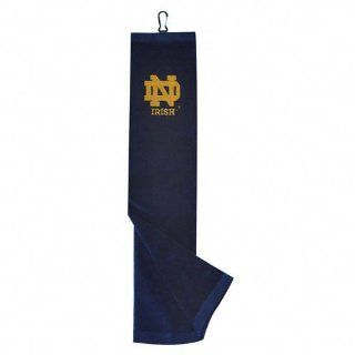 Notre Dame Fighting Irish Embroidered Tri Fold Towel