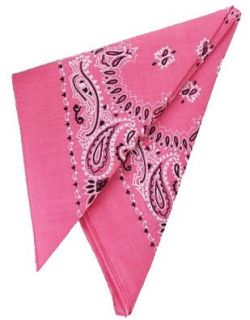 com New Pink Cowboy Cowgirl Costume 19 Bandana Head Scarf Clothing