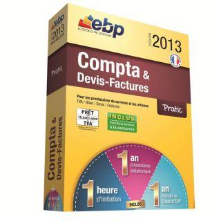EBP Compta et Devis Factures Pratic 2013   Achat / Vente LOGICIEL
