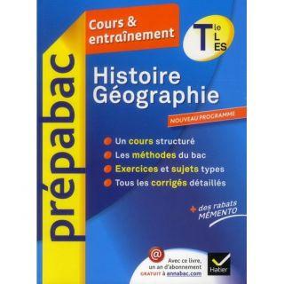 SCOLAIRE   ETUDIANT PREPABAC COURS ET ENTRAINEMENT; histoire géogra