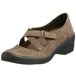 Easy Spirit Womens Joey Wedge,Dark Taupe Nubuck,10 N US Shoes