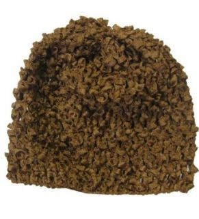 Brown Crochet Baby Hat Clothing