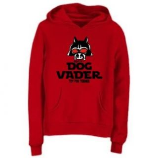 Sweatshirt Woman Red  Dog Vader  Toy Fox Terrier  Dog