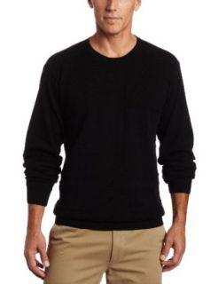 Van Huesen Mens 9GG Windowpane Crew Neck Sweater