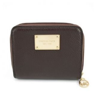 Michael Kors Womens Jet Set Zip Around Leather Bifold