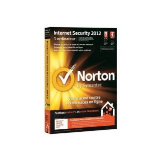 / Vente ANTIVIRUS Symantec Norton IS 2012 Soldes