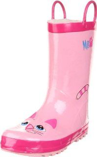 Western Chief Pink Kitty Rain Boot (Toddler/Little Kid/Big Kid) Shoes