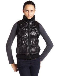 Calvin Klein Performance Womens Puffer Vest,Black,X Large