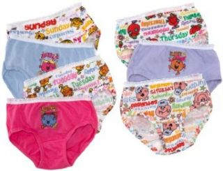 Fruit Of The Loom Girls 2 6x Girls 7 Pack Little Miss Mr