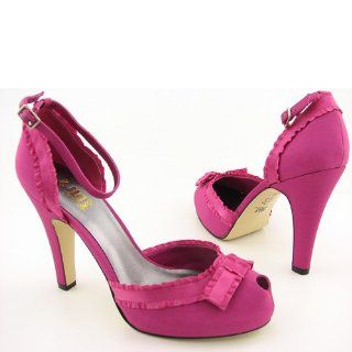 LOPEZ Mabel Pink Heels Shoes Womens 10: JLO JENNIFER LOPEZ: Shoes