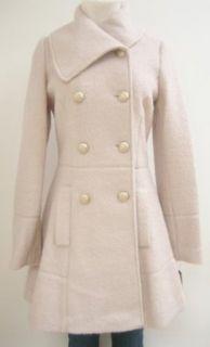 Guess Envelope Collar Wool Coat, Jacket, Pink, X Large