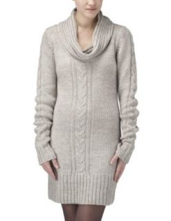 Joe Browns Womens Cosy Cable Cowl Sweater Taupe 4