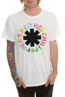 Red Hot Chili Peppers Psychedelic Logo T Shirt Clothing