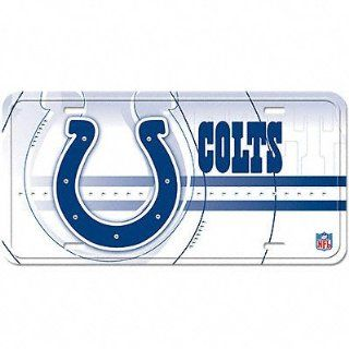 Indianapolis Colts License Plate Aluminum Street Flair