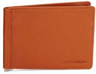 Hartmann Belting Leather Money Clip Wallet,Natural,One