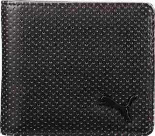 Puma Black Blueprint Bifold Wallet Clothing