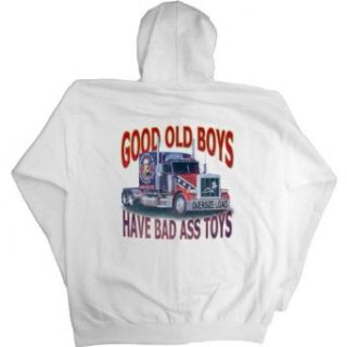 Mens Full Zip Hooded Sweatshirt  GOOD OLD BOYS HAVE BAD