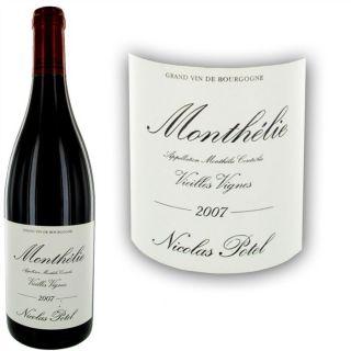 2007   Achat / Vente VIN ROUGE Nicolas Potel Monthelie 2007