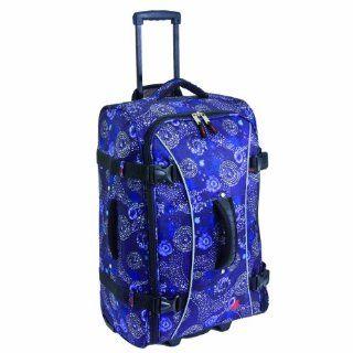 Athalon Luggage 29 Inch Hybrid Travelers Bag, Batik, One