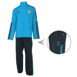 ADIDAS Survêtement Replica Real Madrid UEFA 11 H Bleu et noir