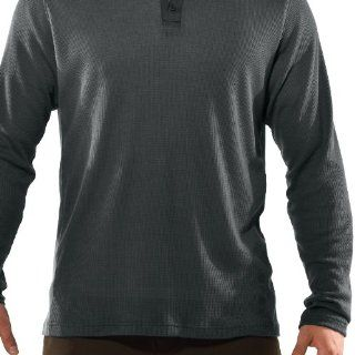 Mens Longsleeve Waffle Henley Shirt Tops by Under Armour