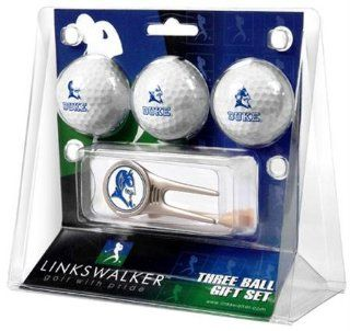 Duke Blue Devils NCAA 3 Ball Gift Pack & Cap Tool Sports