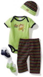 Baby Essentials Unisex baby Newborn Rock Star Layette Set
