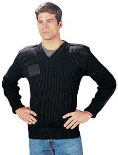 Govt Wool V Neck Sweater Clothing