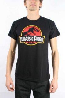 American Classics Jurassic Park Logo Black Mens T shirt