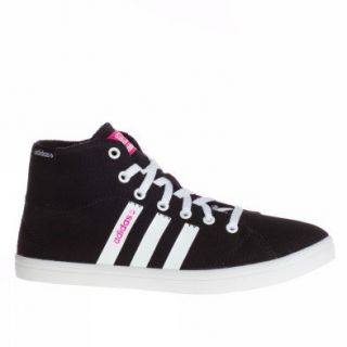 Adidas Trainers Shoes Womens Vlneo Bball Mid W Black Shoes
