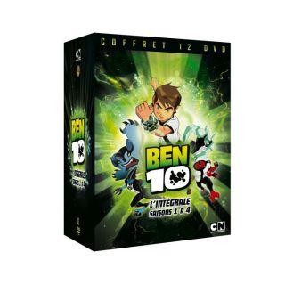 DVD Ben 10 Intégrale S 1 à 4 en DVD DESSIN ANIME pas cher