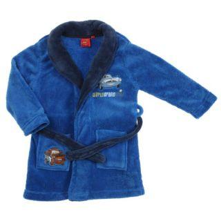 CARS Robe de chambre Garçon Bleu roi / Marine   Achat / Vente PYJAMA