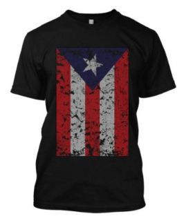 Big Puerto Rican Distressed Flag Olympic Soccer Football