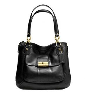 Leather North South Magazine Bag Purse Tote 18298 Black Silver Shoes