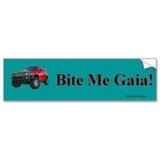 Bie Me Gaia Bumper Sicker