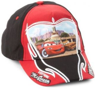 ABG Accessories Boys 2 7 Cars Baseball Hat, Red, One Size