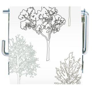 Derouleur Trees Blanc/gris Matière  MDF/METAL Longueur  13 cm