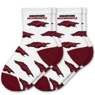 NCAA Arkansas Razorbacks Toddler Two Pack Socks All Over