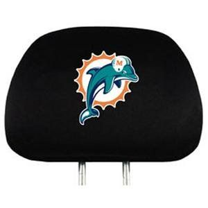 Miami Dolphins Car Seat Headrest Covers