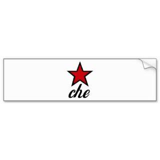 Red Star Che Guevara! Bumper Sticker