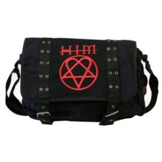Him   Heartagram Messenger Bag: Clothing