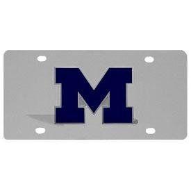 Michigan Wolverines Logo License Plate