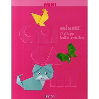 Mini origami animaux ; 15 pliages faciles à réa  Achat / Vente