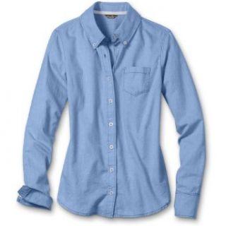 Eddie Bauer Classic Oxford Shirt, Blue M Regular Clothing
